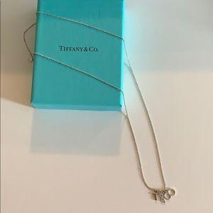 "Tiffany & Co. Dangle ""T & C O"" Pendant Necklace"